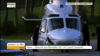 Abschied von Papst Benedikt XVI. - VOR ORT vom 28.02.2013