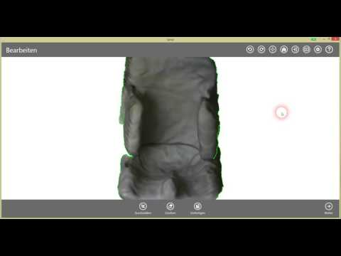 SAVI Custom Seating 3D Scan Software Video Teil2 Nachbearbeitung