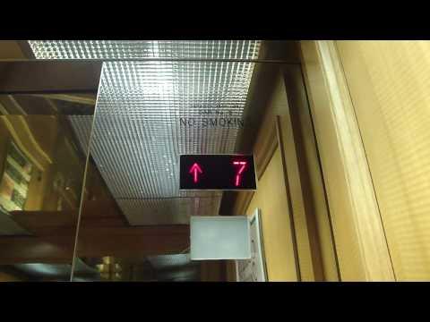 Schindler Traction Elevators at the Florida Hotel & Conference Center, Orlando, FL