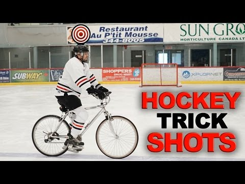 Hockey Trick Shots | Winter Edition