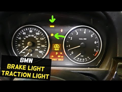 BMW E90 TRACTION LIGHT ON, DSC, BRAKE LIGHT ON after Battery Replacement