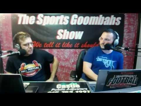 Sports Goombahs Fantasy Football Show