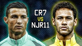cristiano ronaldo vs neymar jr ● magic skills show 2017 hd