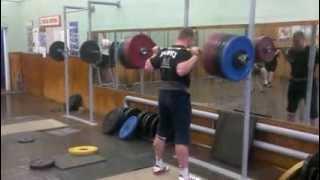 Gennady Muratov 320kg (705.5lb) x2 Squat