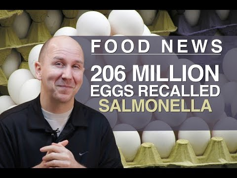 Food News | 206 Million Eggs Recalled Over Salmonella Fears | vlog episode 9