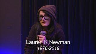 Lauren K Newman speaks on her life in music. 2/6/2018