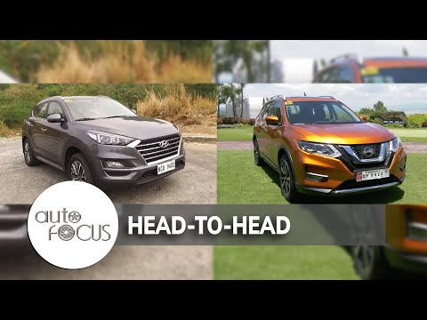 Hyundai Tucson VS. Nissan X-Trail   Head-to-Head