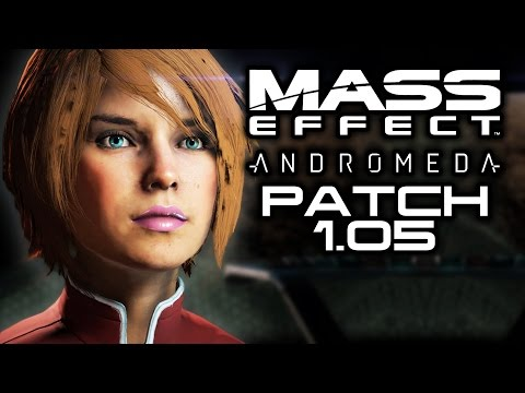 MASS EFFECT ANDROMEDA: Patch 1.05 Before & After Changes! (Better Eyes, Inventory, Tempest Skip!)