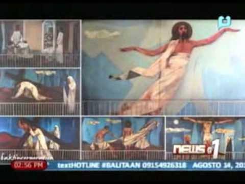 [News@1] Xiao Time: Si Leandro Locsin at Vicente Manansala mga gumawa sa U.P. Chapel