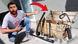 I Bought A $1000 Survival WEAPONS Supply Drop!! *1 MILLION SUBSCRIBERS GIFT*