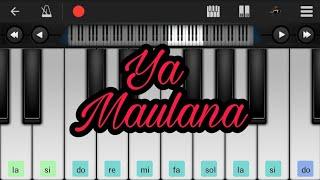 Ya Maulana - Sabyan Gambus - Perfect Piano