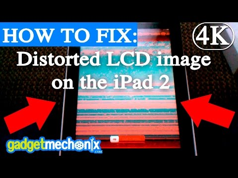 How to fix flickering iPad 2 LCD without replacing LCD (Gadget Mechanix) repair tip