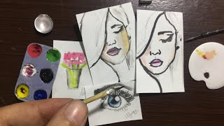 Miniature Paintings tutorial | Mahnoor naeem