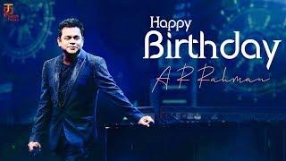 Happy Birthday A R Rahman | A R Rahman Birthday Special | #AR53 | Thamizh Padam