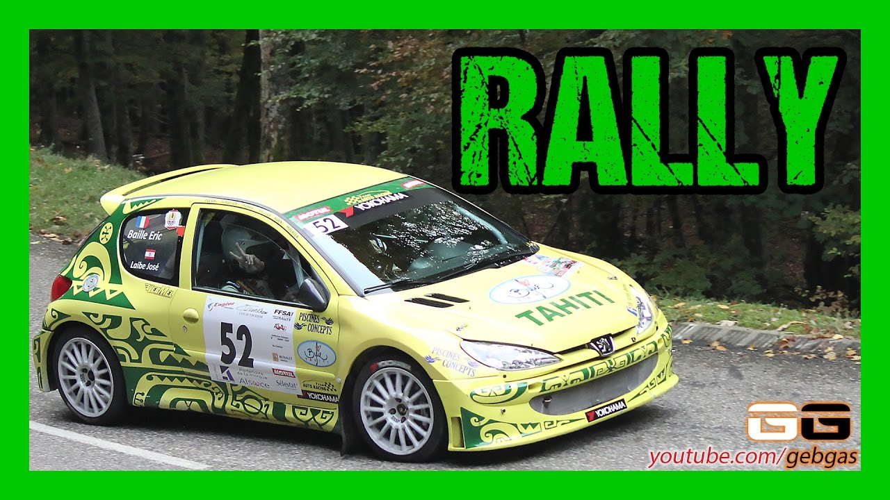 peugeot 206 jos laibe rally 2016 centre alsace eric baille youtube. Black Bedroom Furniture Sets. Home Design Ideas