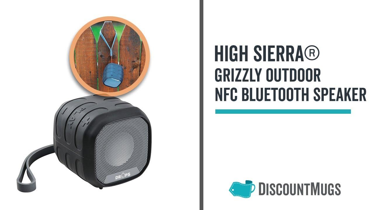 Printed High Sierra Grizzly Outdoor Bluetooth Speaker