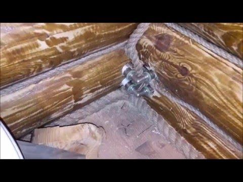 Дома из оцилиндрованного бревна под ключ Строительство
