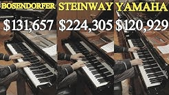 Can You Hear The Difference Between a Steinway, Yamaha and Bosendorfer?