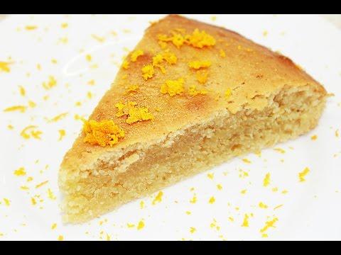 Манник Апельсиновый Постный - Постное меню / Vegan Orange Pie Recipe