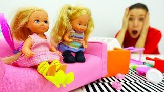 Барби новая серия. Штеффи устроила дома бардак!