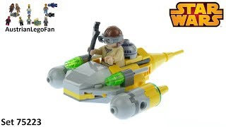 Lego Star Wars 75223 Naboo Starfighter Microfighter - Lego 75223 Speed Build