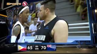 Philippines vs. New Zealand - Q4   JONES CUP 2015