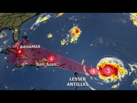 Forecasters track Hurricane Ir hurricane irma
