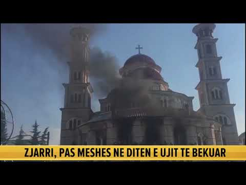 Dita e Ujit të Bekuar, merr flakë Katedralja në Korçë. Dhjetëra besimtarë ishin brenda