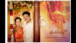 Ashok and Keerthana | Wedding Highlights | Orasaadha-Tamil Song| BaambooStudios