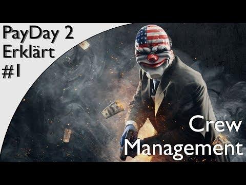 PayDay2 - Crew Management Erklärung