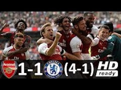 Download Arsenal vs Chelsea 1-1 (4-1) - All Goals & Highlights - Community Shield 06/08/2017 HD