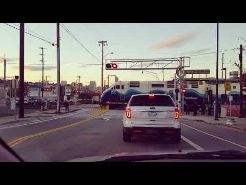 Sounder Commuter Train Downtown Tacoma
