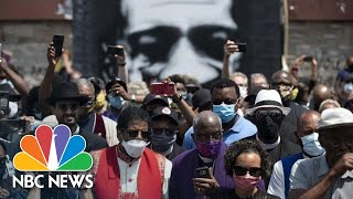 Live: George Floyd Memorial Service In Minneapolis | NBC News