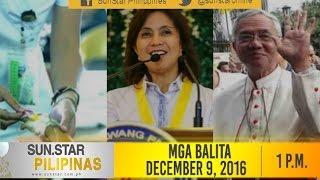 SunStar Pilipinas December 9, 2016