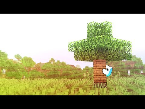 Replacing Every Tree With Planks On Minecraft
