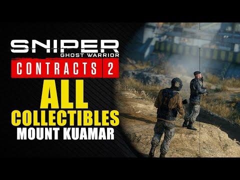 Sniper Ghost Warrior Contracts 2 guía - Dónde encontrar los 10 coleccionables de Monte Kuamar