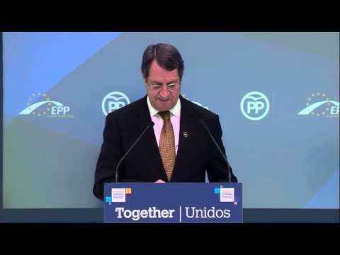 EPP Madrid Congress - Nicos Anastasiades, President of Cyprus