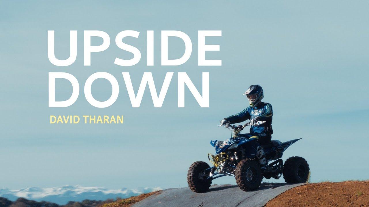 UPSIDE DOWN – Yamaha YFZ450R Backflip with David Tharan