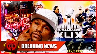 TMT BUS ARRIVES IN PHOENIX, AZ--FLOYD MAYWEATHER TO MAKE SUPER BOWL XLIX ANNOUNCEMENT?