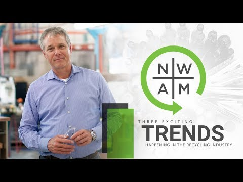 Three Exciting Trends Happening In the Recycling Industry | Never Waste A Moment | #NWAM Episode 26