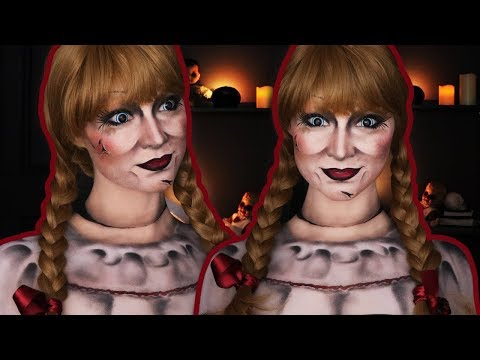 ANNABELLE Halloween Makeup Tutorial | EVERYTHING is Makeup!