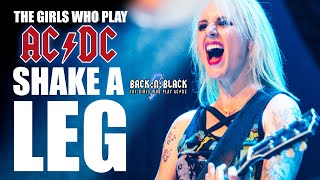 AC/DC Girls 2015 - Shake a Leg! BACK:N:BLACK (HD)