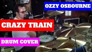 Ozzy Osbourne - Crazy Train Drum Cover by Daniel Charavitsidis