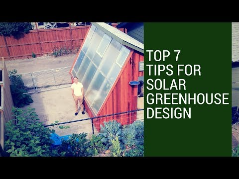 7 Passive Solar Greenhouse Design Tips