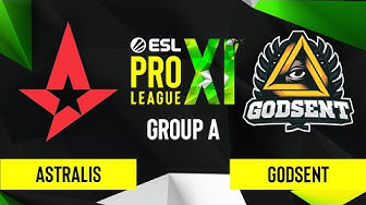 CS:GO - Astralis vs. GODSENT [Inferno] Map 2 - ESL Pro League Season 11 - Group A
