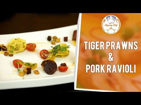 How to Make Prawn Ravioli (Part 5) – Sauce & Plating || Hopping Chef