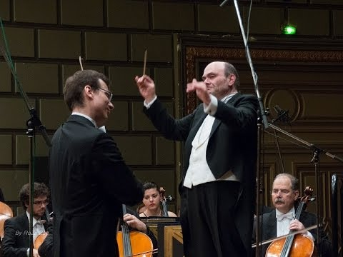 Paganini: Concerto n°2 - 3° mov. - Alexandru Tomescu, vl. - G.L. Zampieri, dir.