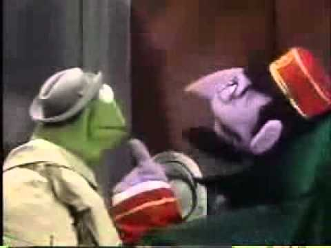 Classic Sesame Street - The Count as an Elevator Operator