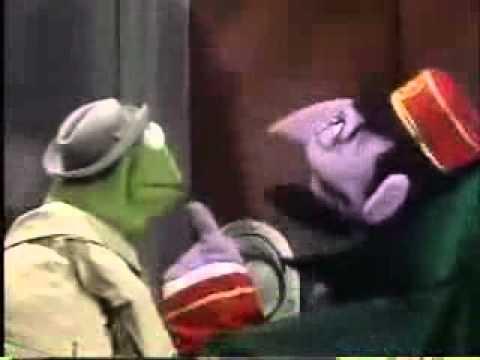 Sesame street elevator operator