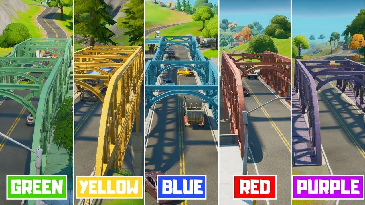 Fortnite Stahlbrücken